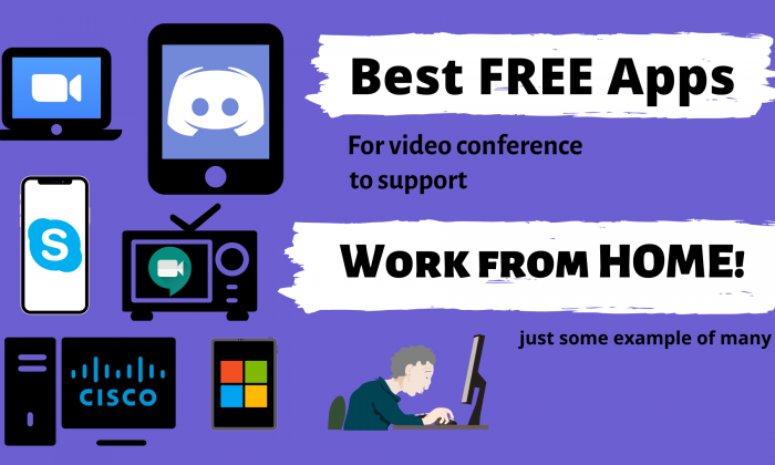 Great Video conference applications for Work from Home