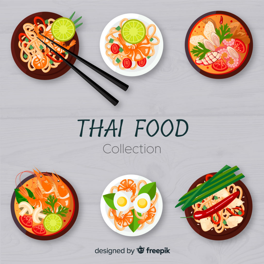 Top 5 Dishes Thai food