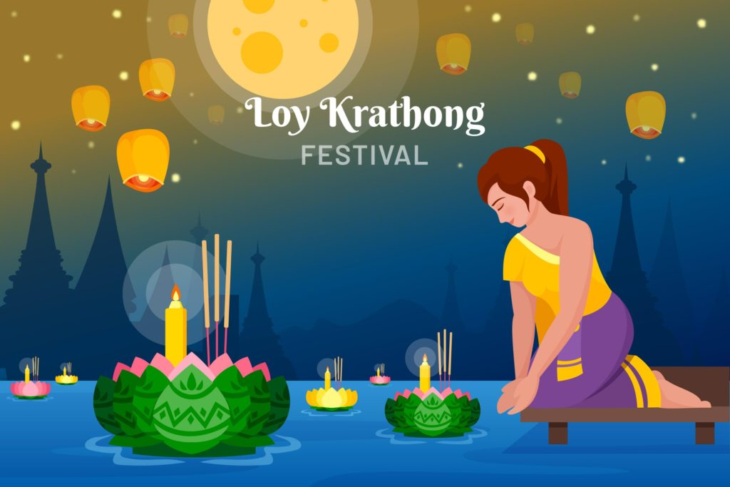 loy krathong festival 2020